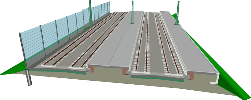 Bahnsteigplanung